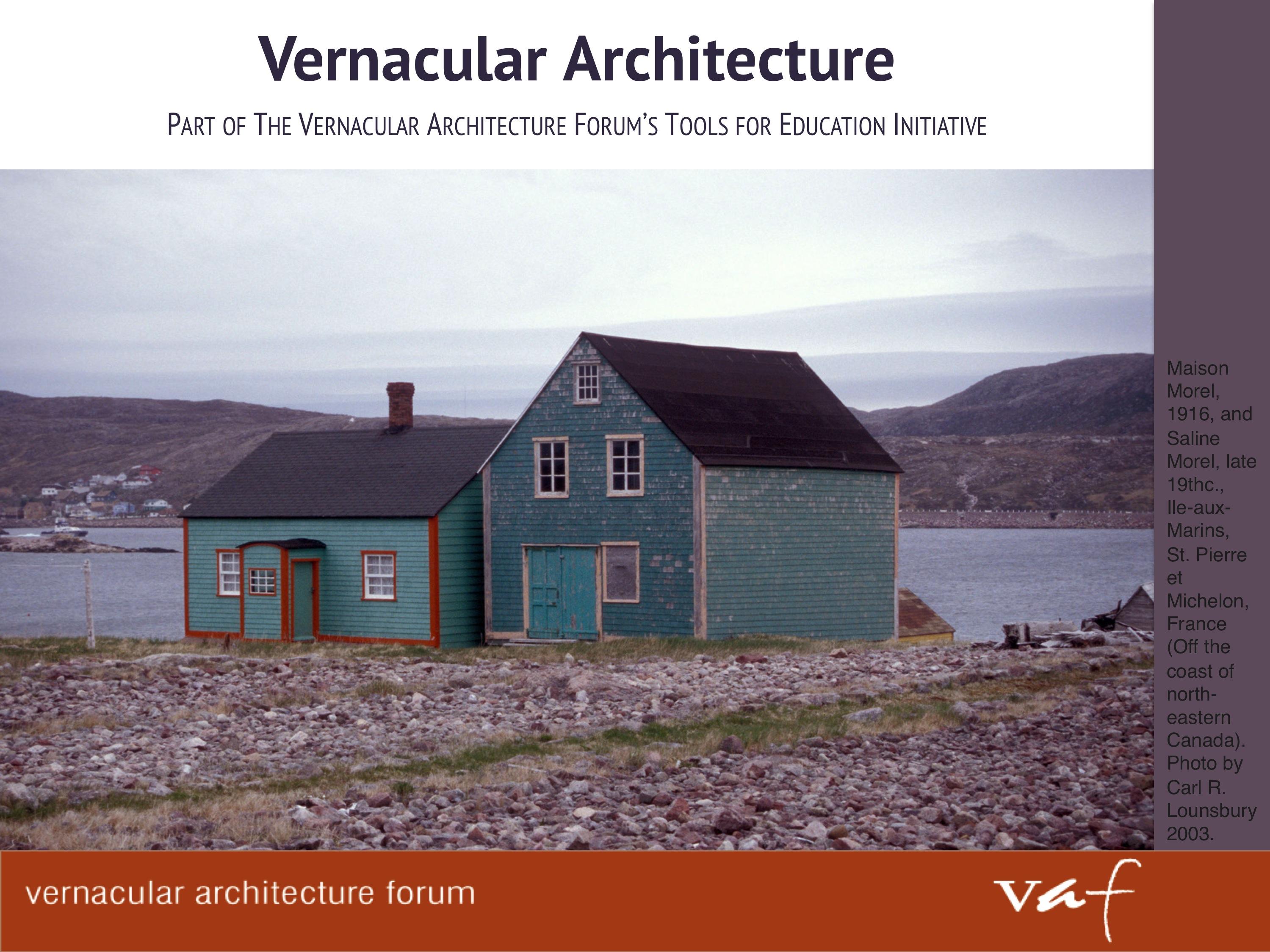 First Slide vernacular architecture forum tools for education,Invitation To Vernacular Architecture