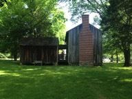 """Bright Leaf Culture and Thomas Day Orange and Caswell Counties Tour""-Horton Grove slave quarters. Image © Betty R. Torrell"