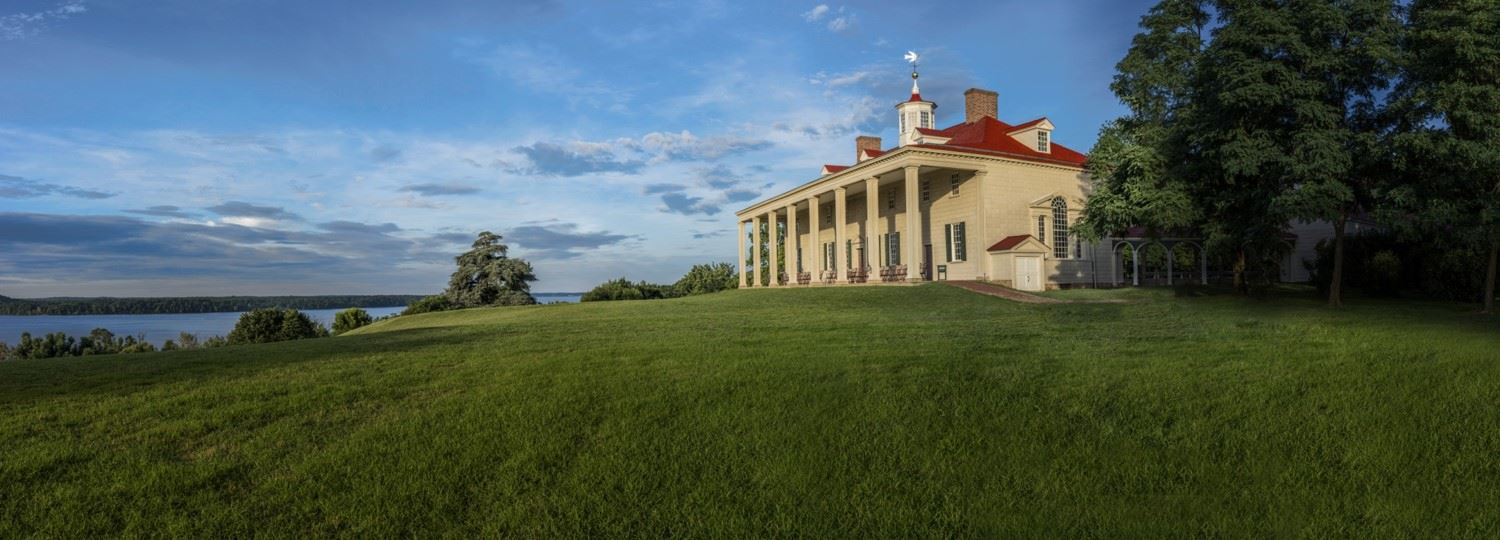 Mt Vernon, site of the keynote address