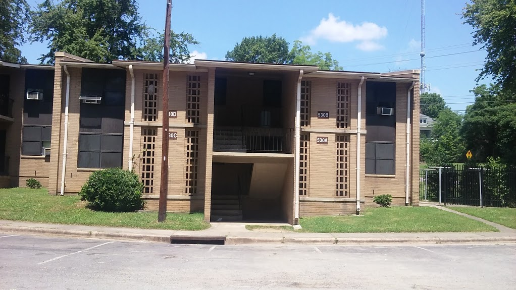 Figure 3 Durham City, public housing